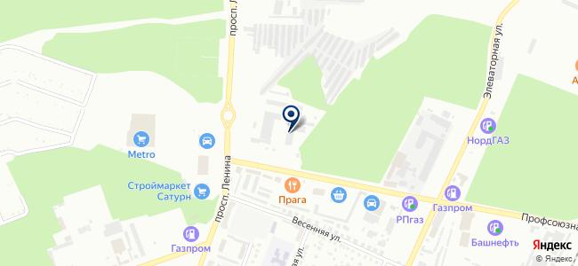 СМУ-1 Башэлектромонтаж, ООО на карте