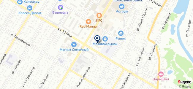Спецремстрой, ЗАО на карте