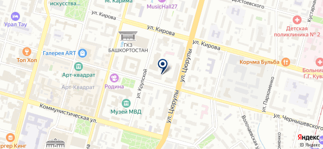 Центр света и посуды на карте