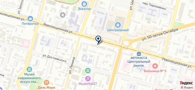 Телекоммуникационные системы, ООО на карте
