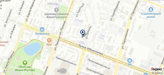 Башмашоптторг, ОАО на карте