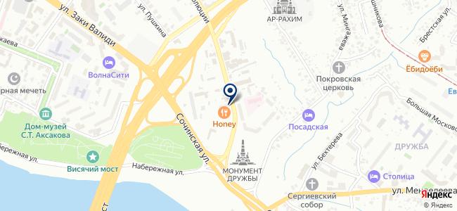 Эмерсон на карте