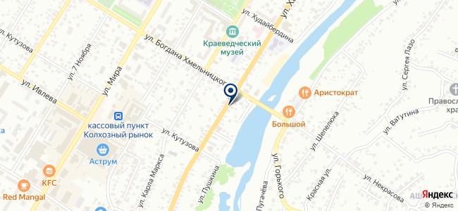 Рахат, ООО на карте