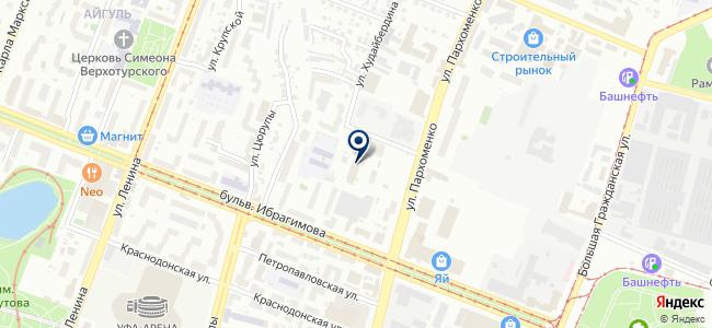 Башсельэнерго, ОАО на карте