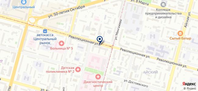 Точка проката на карте