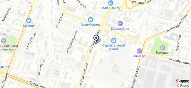 БашПломба, ООО на карте