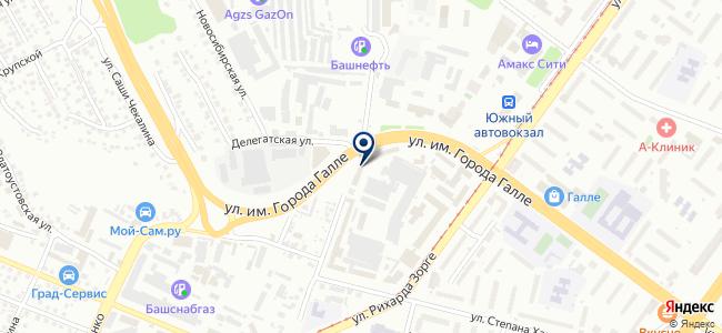 ЛазерГЕО на карте