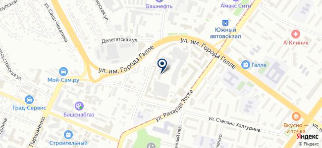 УПАТП-3 на карте