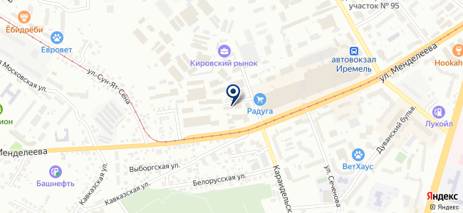 Компонент, ЗАО на карте
