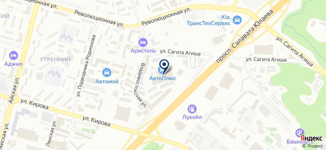 Ермак-Уфа на карте