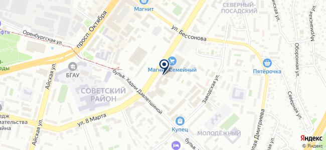 Спутниковые телесистемы на карте