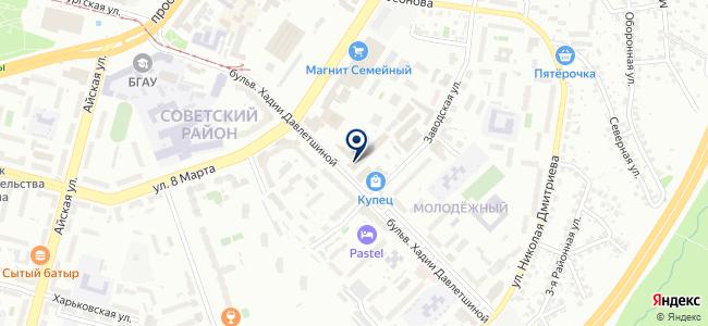 Интеграл, ООО на карте