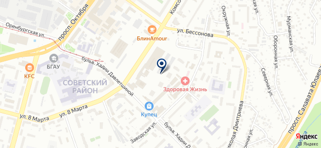 Уралконтакт, ООО на карте