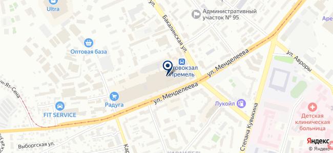 АР-Матинал, ООО на карте