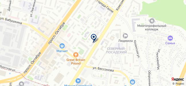 Башэнергоучет, ООО на карте