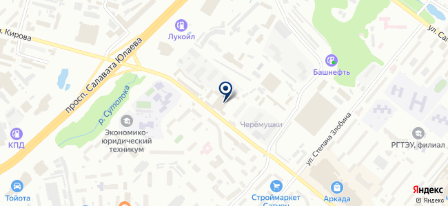 ЛавитаУфа, ООО на карте