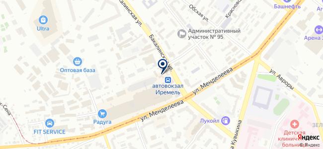 АвтоГазМастер на карте