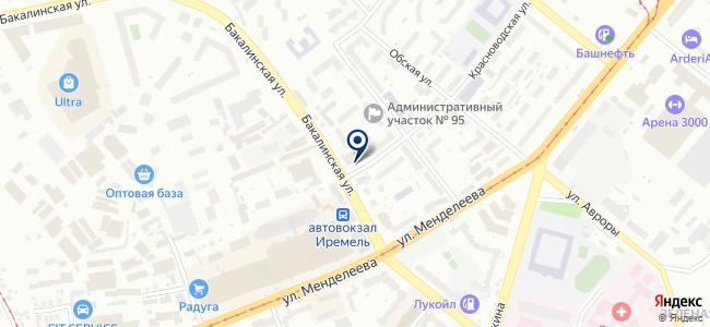 Тул-Март на карте