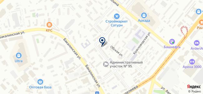 Уфимское социально-реабилитационное предприятие, Всероссийское общество глухих на карте
