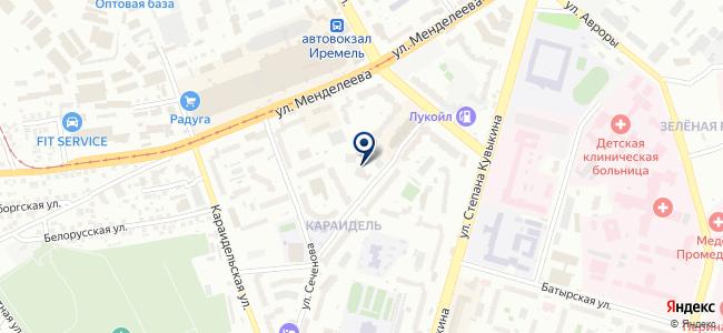 Мир Энергомеры, ООО на карте