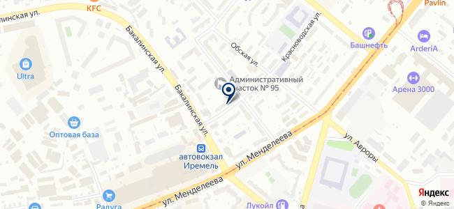 Тепломир-Уфа, ООО на карте