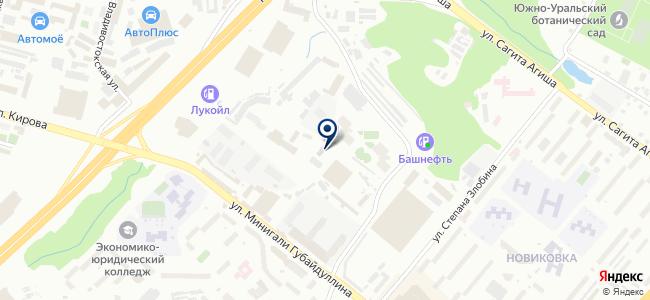 УАТП-8 на карте