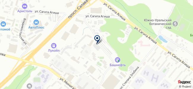 Эзоис-Башкортостан, ООО на карте