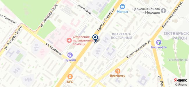 Микроклимат-Уфа на карте