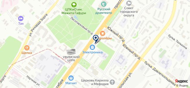 Лампочка на карте