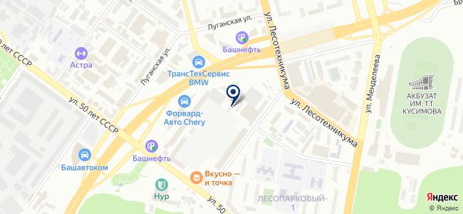 Белорусский инструмент, ООО на карте