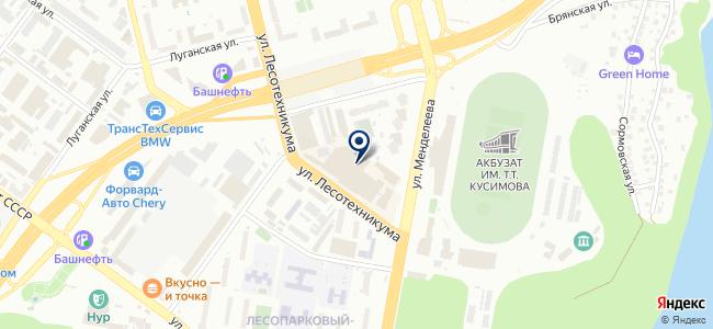 Энтузиаст-С на карте