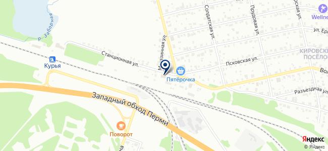 Урал-Крепеж на карте