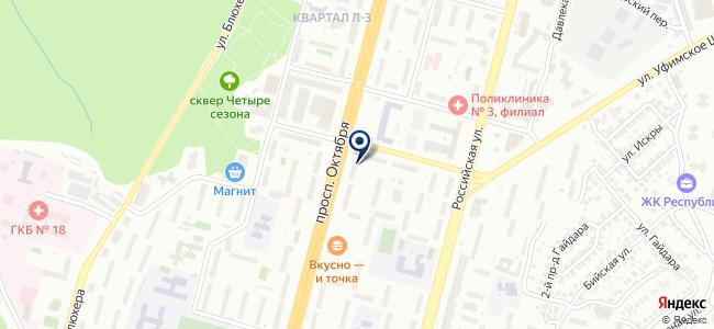 ЛЕВША на карте