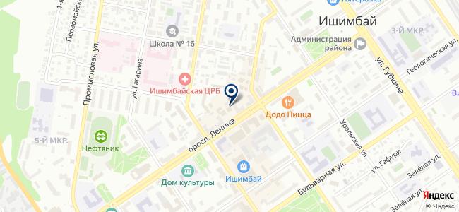 Отдел.ка на карте