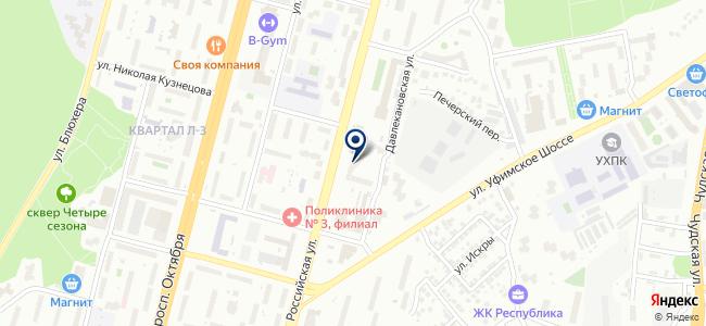Бинапро, ООО на карте