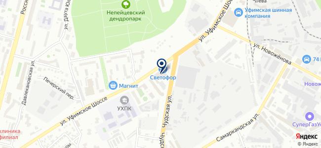 Строймаш-Башкортостан, ООО на карте
