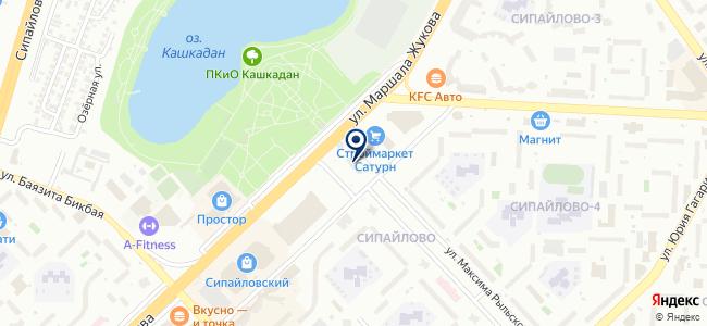 Smotka-Ufa на карте