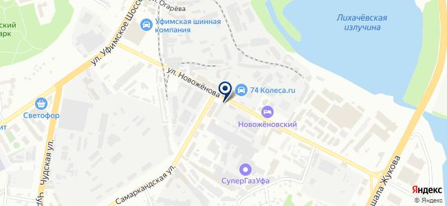 ЛидерСтройИнструмент-Уфа, ООО на карте