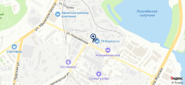 Вира, ООО на карте