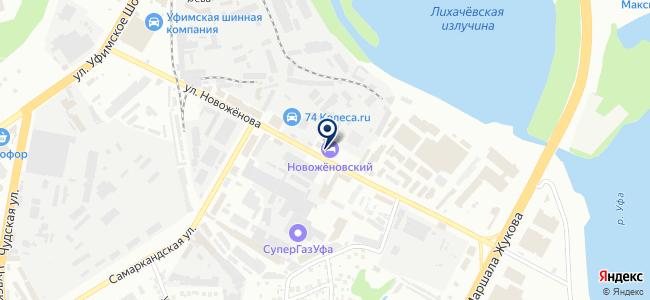 Нефтекамский электромеханический завод, ООО на карте
