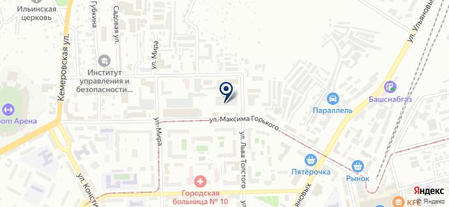 Уршак+, ООО на карте
