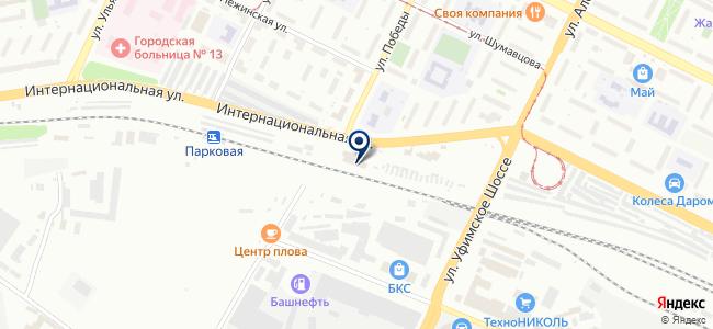 Уфа-кабель, ООО на карте