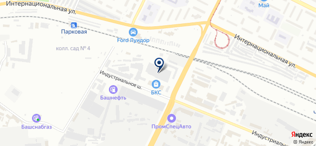 ХозДворУфа на карте