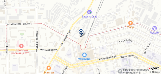 ОВЕН-Уфа, ООО на карте