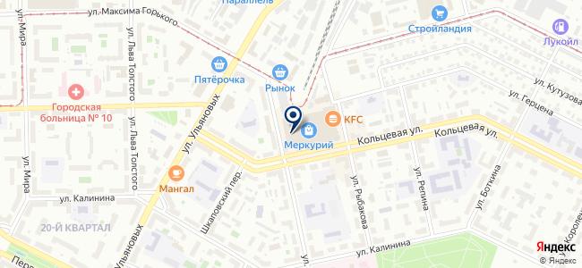 Интерсварком, ООО на карте