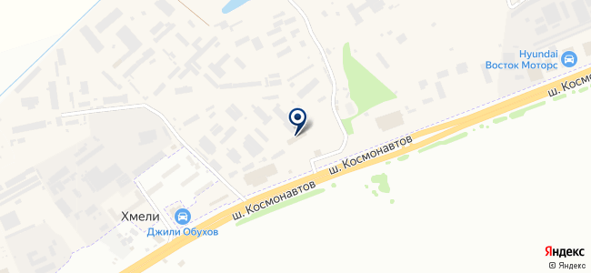 ВЭКС на карте