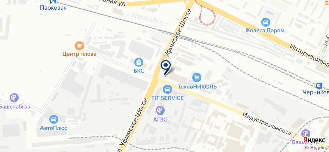 Центр Комплексной Автоматизации и Систем Безопасности, ООО на карте