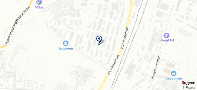 Инкост, ООО на карте