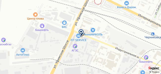 ТулХаус на карте