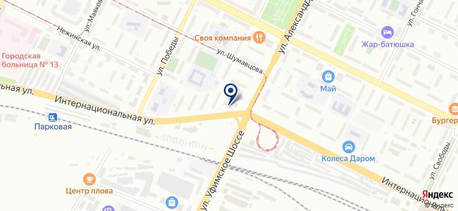 СтройИнструмент, ООО на карте